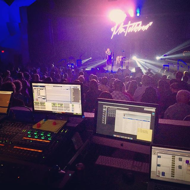 Biggest rig this place has seen! Doing the Venue Tech Director thing. Matthew West at @pantanochristian